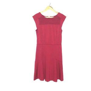Banana Republic Red Cute Classic Dress SZ 8 Tall